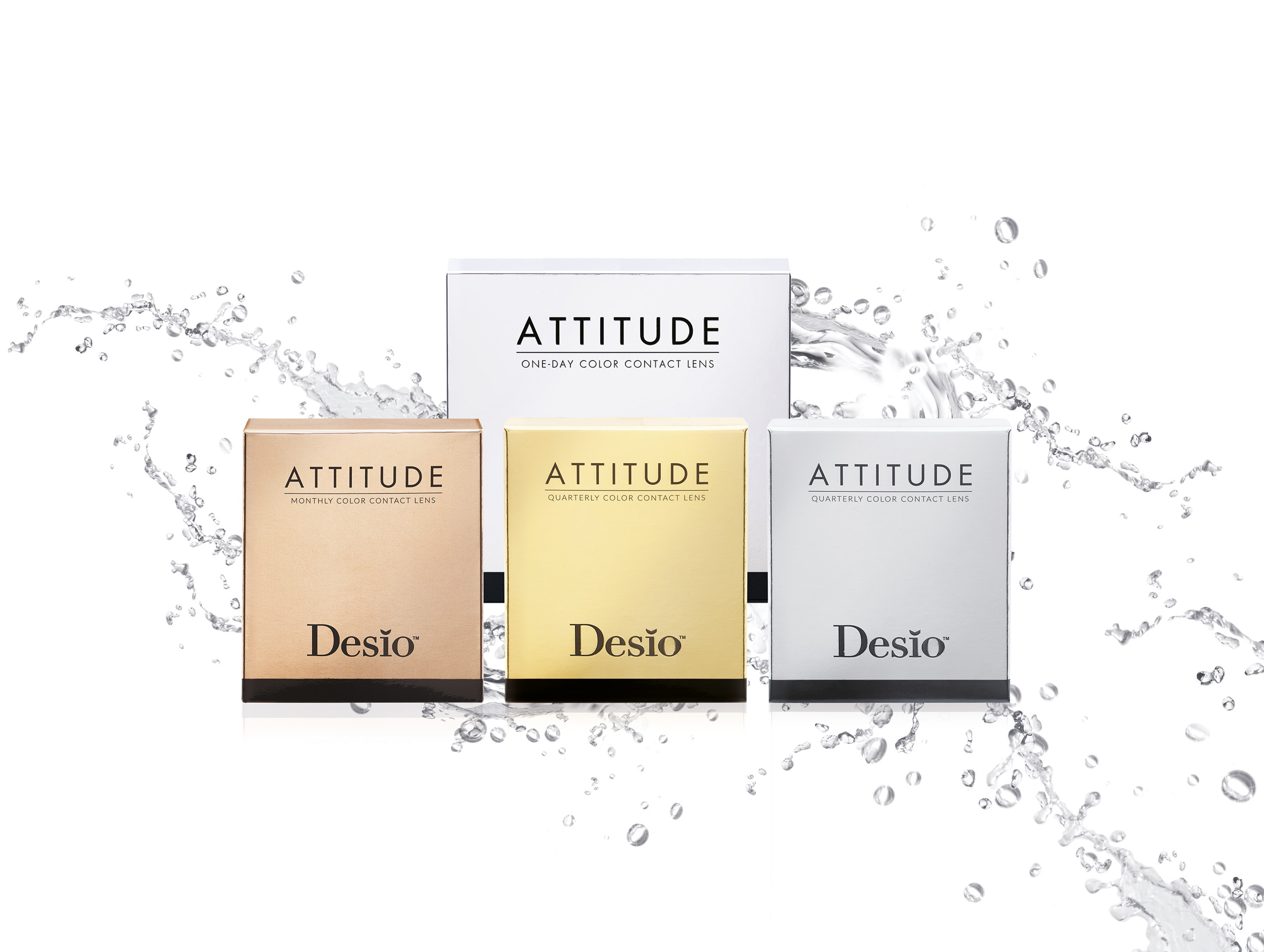 Attitude: 16 different colors for irresistible eyes